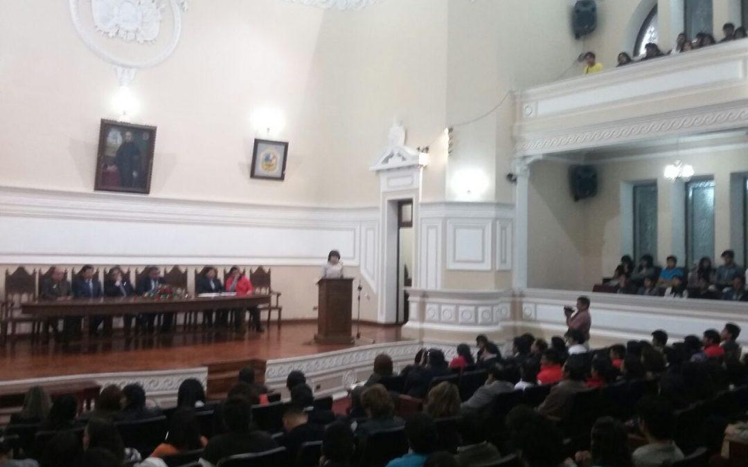35 AÑOS DE ANIVERSARIO DE LA FACULTAD DE CIENCIAS TECNOLÓGICAS DE LA SALUD